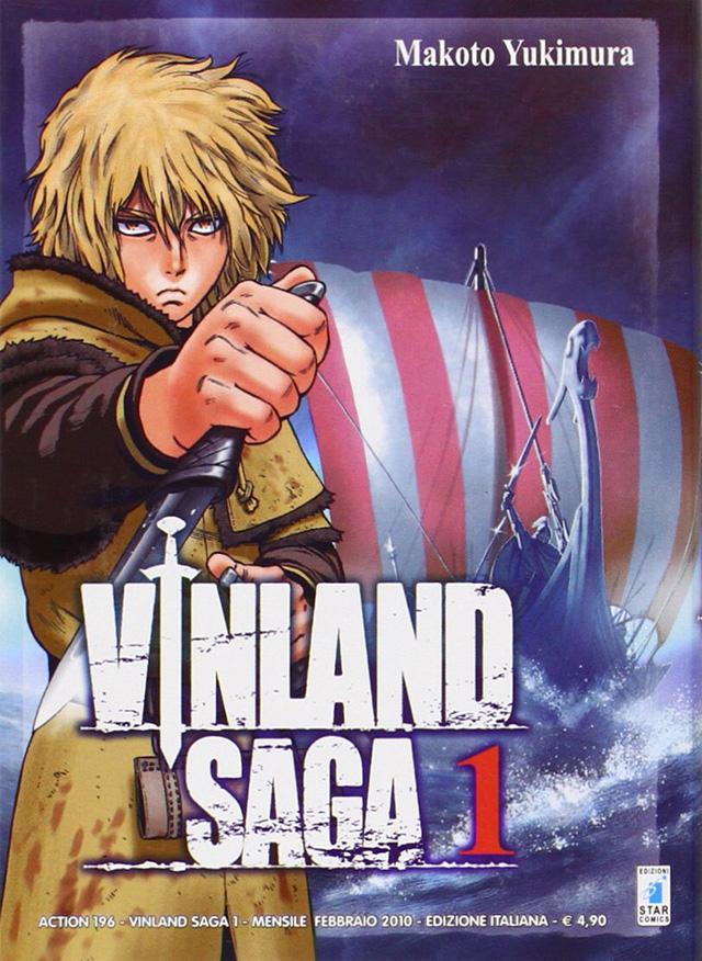 Capa do volume 1 de Vinland Saga