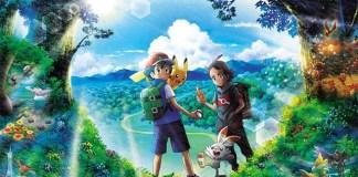 Trailer e imagem promocional da nova série anime de Pokémon
