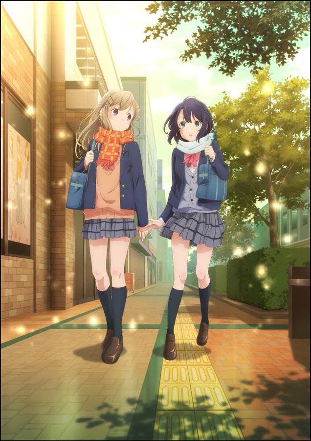 Nova imagem promocional de Adachi to Shimamura
