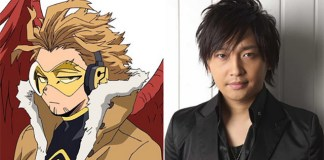 Yuichi Nakamura é Hawks em My Hero Academia HEROES:RISING