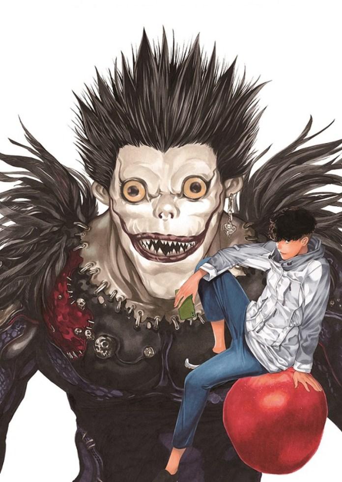 Arte do novo mangá de Death Note