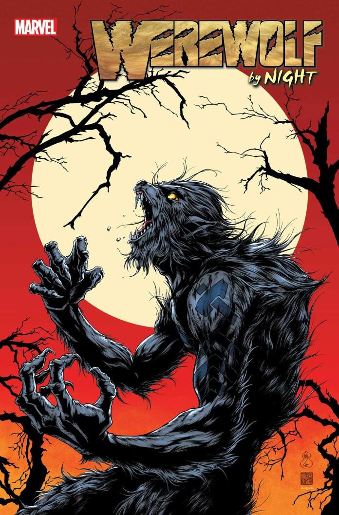 Capa de Werewolf By Night