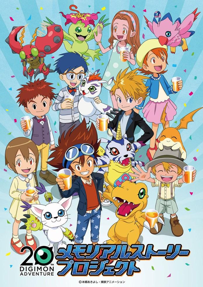 Nova série anime de Digimon em Abril 2020