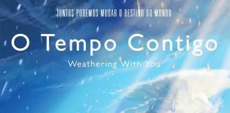 Revelado Póster e título português de Tenki no Ko / Weathering With You