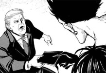 Donald Trump tenta comprar o Death Note no novo mangá