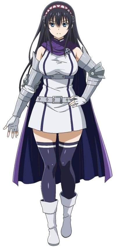 Yui Ninomiya (Ema Hinata em Aikatsu Friends!) como Riviera Sanctus