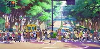 Imagem promocional da nova série anime de Love Live!