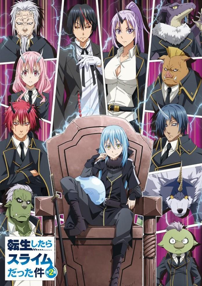 Imagem promocional de Tensei shitara Slime Datta Ken 2