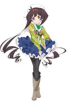 Kyōka Moriya como Hemo Midori
