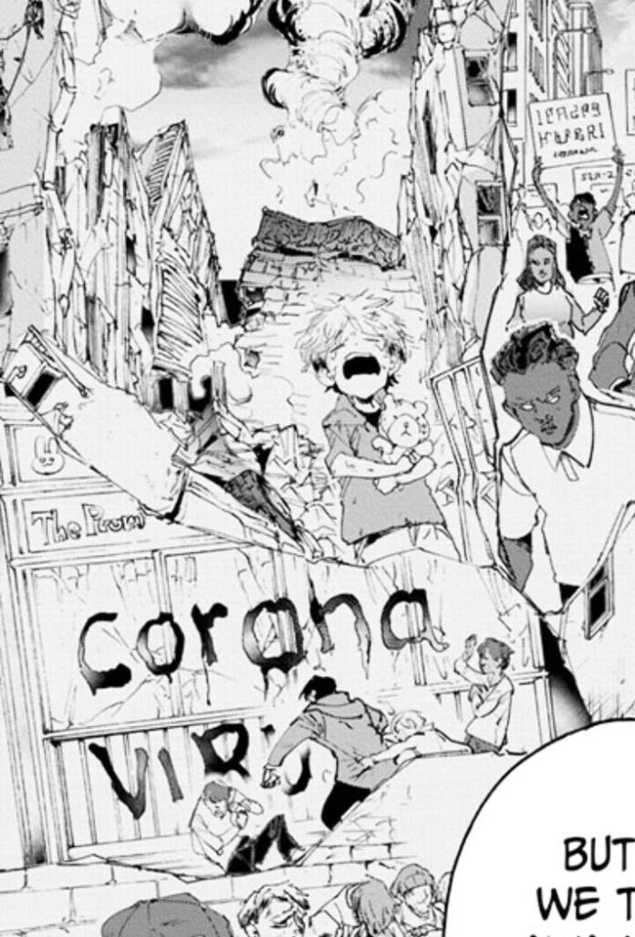 Referência ao coronavírus no mangá de The Promised Neverland