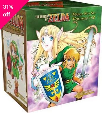 mangás deThe Legend of Zelda