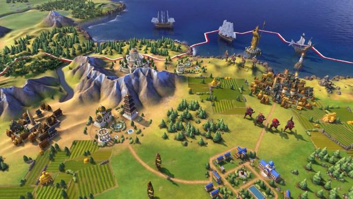 Civilization 6 agora gratuito na Epic Games Store