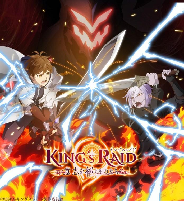 Imagem promocional da série anime KING's RAID: Successors of the Will