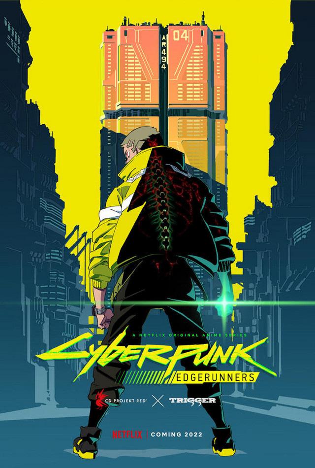 Poster de Cyberpunk: Edgerunners