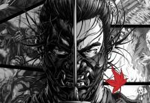 Brutais Posters de Ghost of Tsushima pelo criador de Afro Samurai