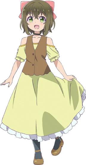 Azumi Waki como Fina, uma menina que Yuna encontra no mundo alternativo