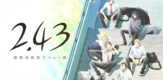 Série anime de voleibol 2.43 em 2021 pela David Production
