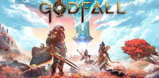 Aqui está a capa Playstation 5 de Godfall