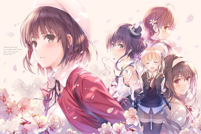 Arte da Box do filme de Saekano