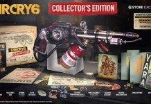 Edição de colecionador de Far Cry 6 vem com um Lança-Chamas