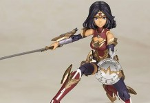 Figura anime da Wonder Woman