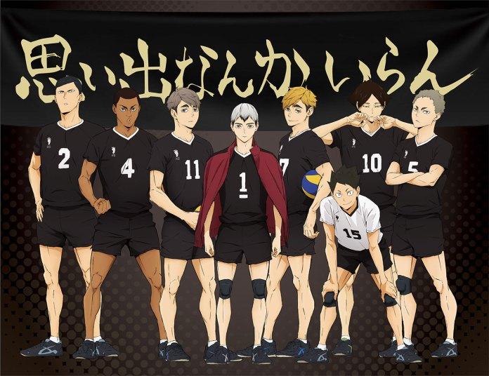 Imagem promocional da 2ª parte de Haikyu!! TO THE TOP