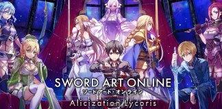 Trailer de lançamento de Sword Art Online: Alicization Lycoris