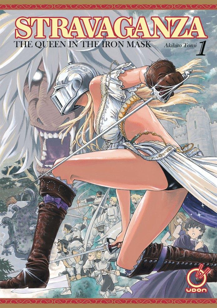 Capa do volume 1 de Stravaganza - The Queen in the Iron Mask (Stravaganza: Isai no Hime)