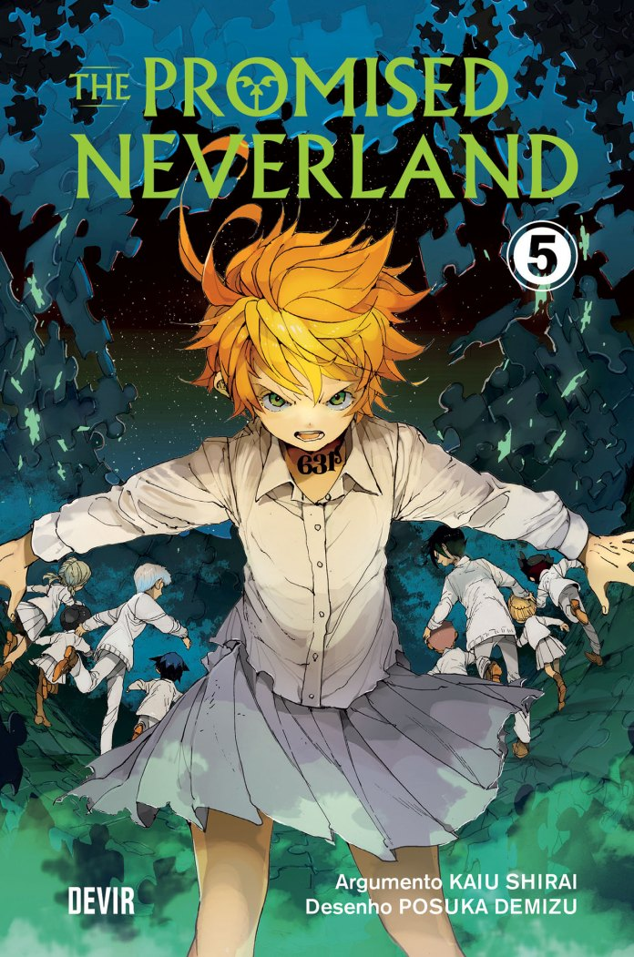 Devir vai lançar The Promised Neverland 5
