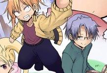 Heion Sedai no idaten-tachi vai ter anime