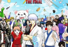 Imagem promocional de Gintama THE FINAL