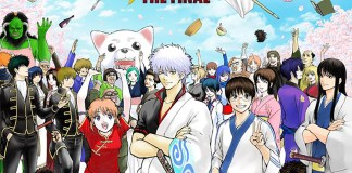Imagem promocional de Gintama THE FINAL