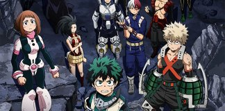 Imagem promocional do OVA My Hero Academia: Survive! Do-or-Die Survival Training