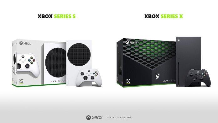 Estas são as caixas da Xbox Series S e Xbox Series X