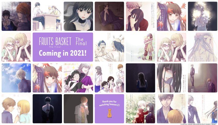 Fruits Basket 3 em 2021