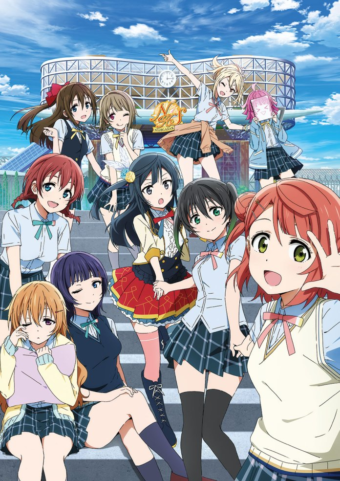 Imagem promocional de Love Live! Nijigasaki High School Idol Club