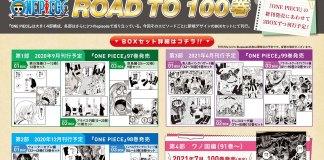Volume 100 de One Piece em Julho 2021