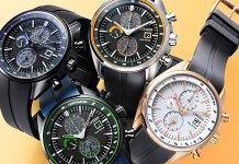 Citizen lança relógios inspirados em Naruto, Sasuke, Sakura e Kakashi