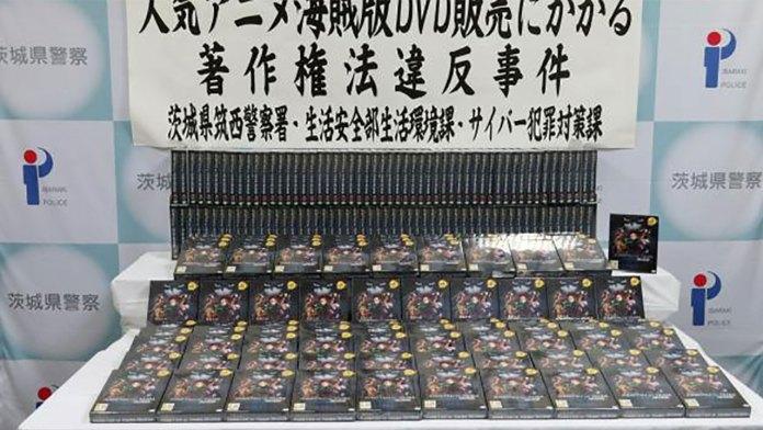 Homem preso no Japão por vender DVDs piratas de Kimetsu no Yaiba