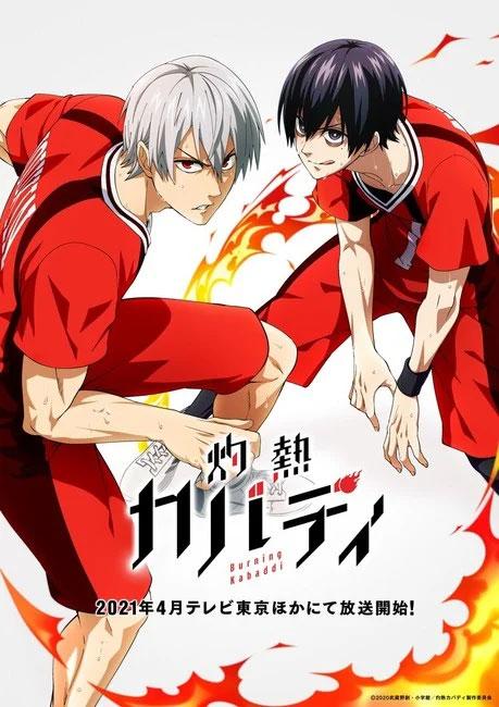 Série anime de Burning Kabaddi estreia em abril 2021