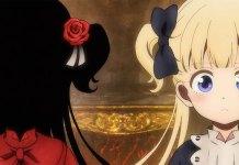 Imagem promocional da série anime Shadows House
