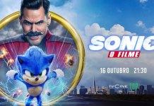 Sonic – O Filme dia 16 de outubro no TVCine Top