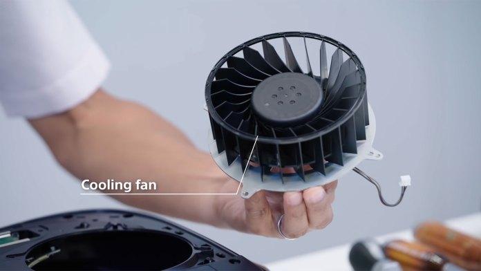 Ventoinha de arrefecimento da Playstation 5 imagem