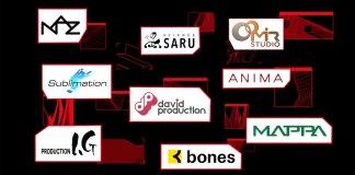 Netflix revela parceria com os estúdios NAZ, Science Saru, MAPPA e Studio Mir