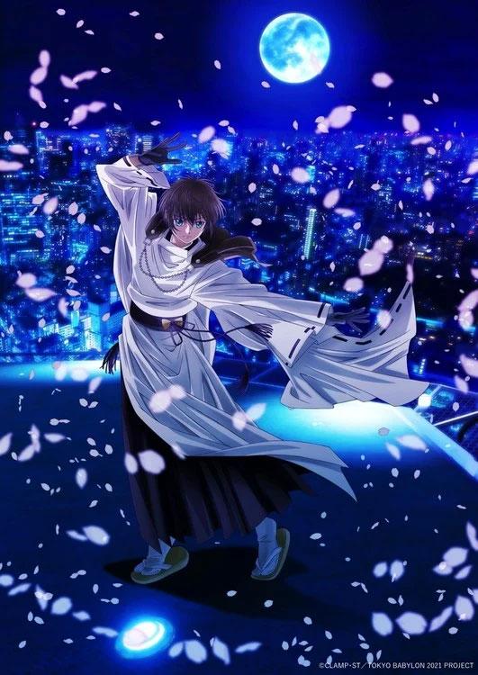 Imagem promocional da série anime Tokyo Babylon 2021