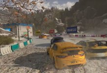 Screenshot de Dirt 5 a correr na Xbox Series X