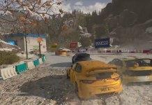 Screenshot de Dirt 5 a correr na Xbox Series X