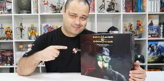 "Unboxing da ""25th Anniversary Edition"" de Command & Conquer Remastered Collection"