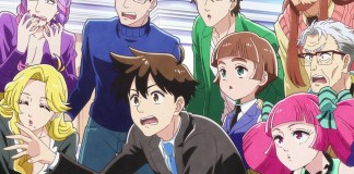 1º episódio de Heaven's Design Team gratuito nas escolas japonesas
