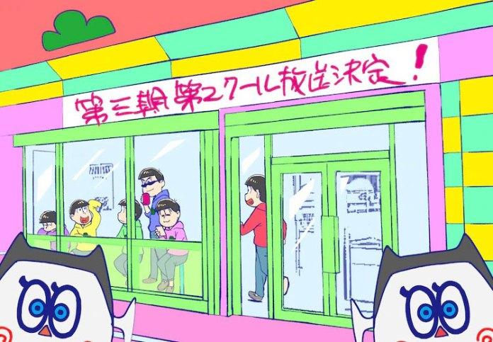 Mr. Osomatsu 3 vai continuar em janeiro de 2021